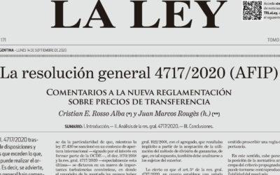 La resolución general 4717/2020