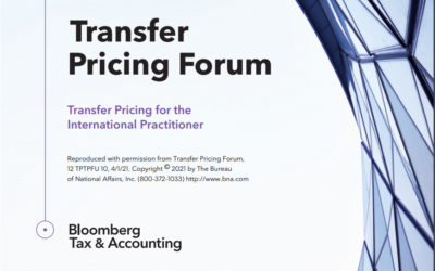 Foro de Precios de Transferencia de Bloomberg. Edición Abril 2021